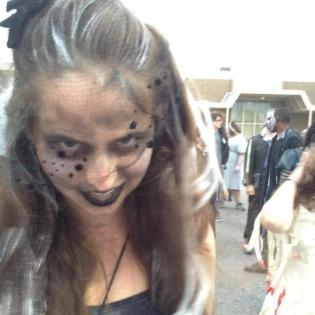 Undead Dancer, Rougarou Parade Houma 2013
