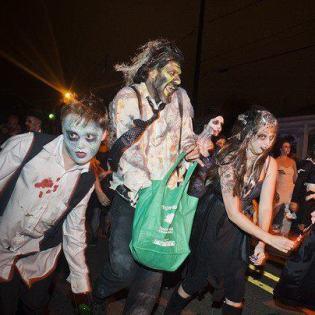 Undead Dancer, Rougarou Parade Houma 2013